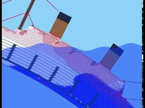 Sinking Simulator — Sandbox Edition —  Sinking a large ship