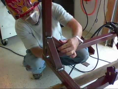 Easy Weekend Welding Table Project