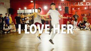 Download Lagu I LOVE HER - Chris Brown | Choreography by Alexander Chung Gratis STAFABAND