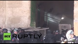 State of Palestine: See Israeli forces attempt to storm Al Aqsa mosque