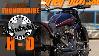 "Harley Davidson Softail ""ME 888"" by Thunderbike 