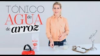 DIY Tónico de agua de arroz | The Beauty Effect
