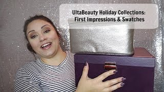 UltaBeauty Holiday Collections 2018 Swatches & First Impressions!