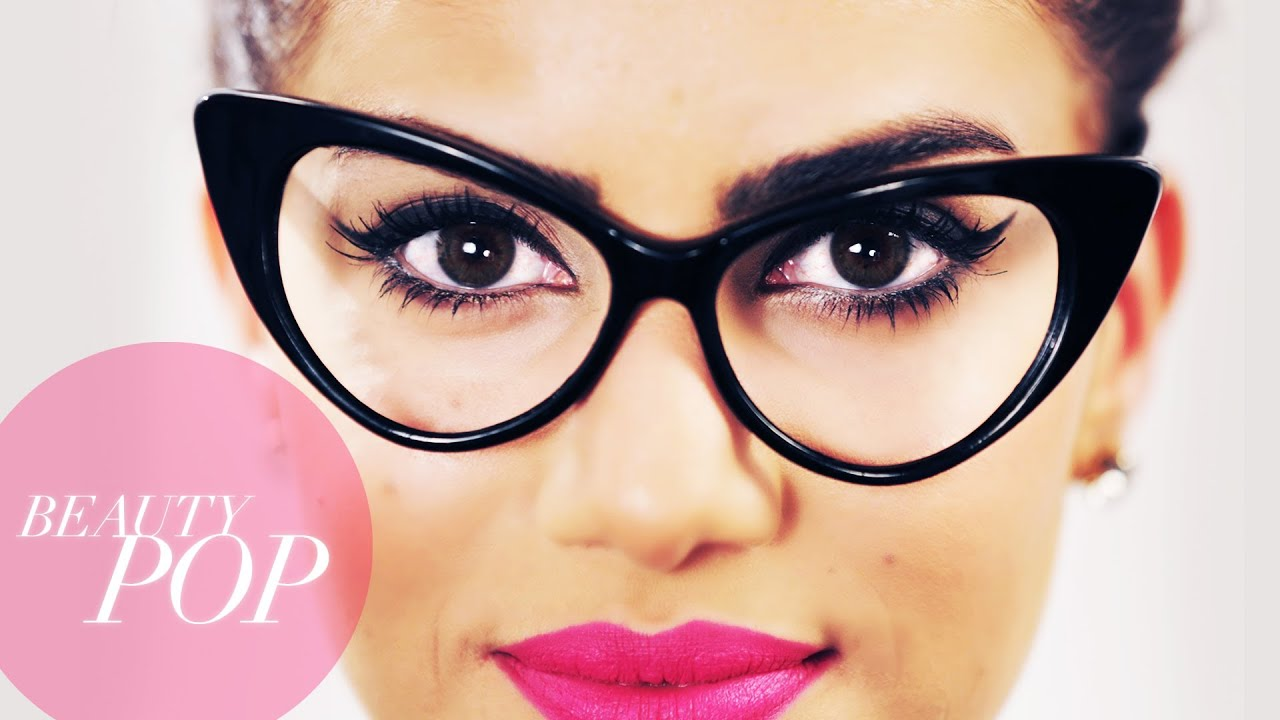 Cat Eye Makeup For Glasses