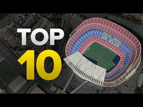 Top 10 BIGGEST Club Stadiums In Europe