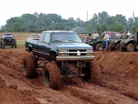 1989 lifted Chevy 4x4 mud truck mud boggin - VXV: Videos x Vos