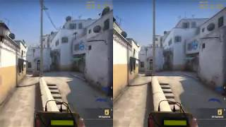 CS GO | New Dust2 | High vs Low Shaders FPS