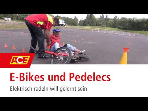E-Bikes und Pedelecs – elektrisch Radeln will gelernt sein