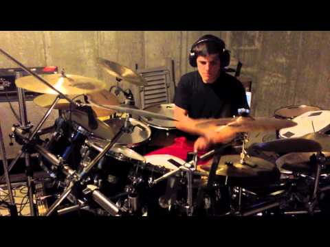 The Dillinger Escape Plan The Threat Posed By Nuclear Weapons Drum Cover
