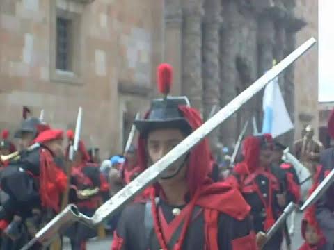 debastadores desfile morismas de bracho 2008