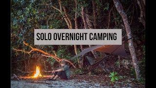 Solo Overnight Camping,Malaysian Coastal Rainforest (Malaysia)