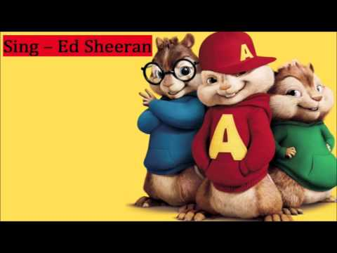 Ed Sheeran - Thinking Out Loud Song In Alvin And The Chipmunks video