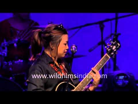 M.O.D band performs in Delhi - Northeast festival