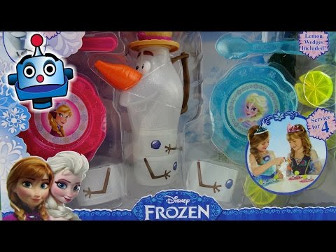 Disney Frozen Juego de Té Olaf's Summer Tea Set - Juguetes de Frozen
