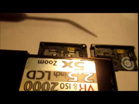 Fix Nikon CoolPix Battery Door