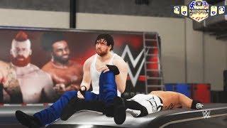 WWE-2K18-Dean Ambrose vs.A.J Style- U.S Championship Match- Extreme Rule Match-Survivor Series