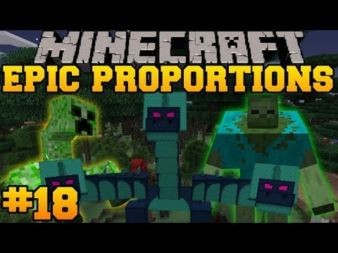 Minecraft: Epic Proportions - Jump Scare! - Episode 18 (S2 Modded Survival)