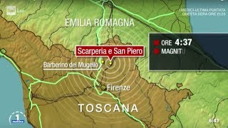 Terremoto del Mugello, circa 600 sfollati - Unomattina 11/12/2019