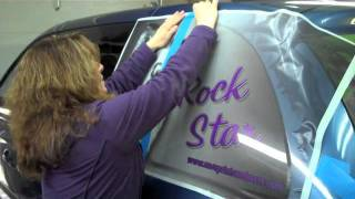 Installing a Side Window Screen on Your Car/Truck/Van