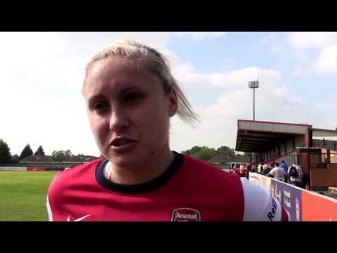 WFD - Full Time Thoughts 2013 Ft. Steph Houghton.Arsenal Ladies F.C FAWSL