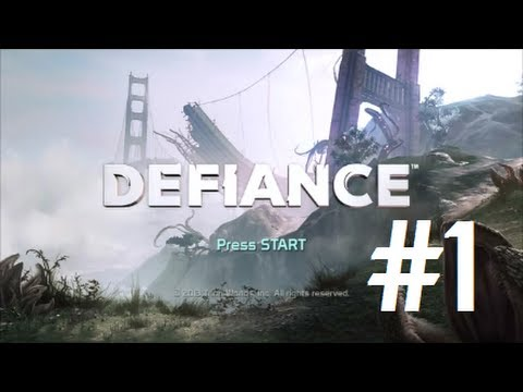 Defiance PS3 Gameplay - First Impressions
