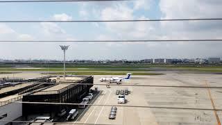 大阪空港のモーションラプス映像