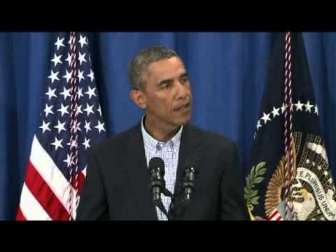 Obama on Ferguson, Missouri Protests over Michael Brown shooting