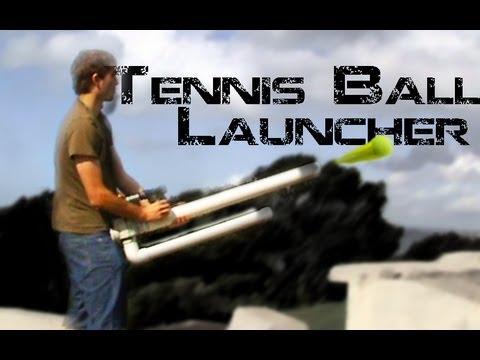 Homemade Tennis Ball Soda Can Spudgun Youtube