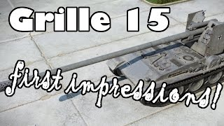Grille 15 || First impressions! (World of Tanks Xbox1/PS4)