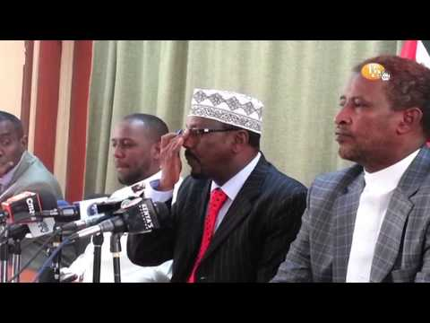 Northern Kenya MPs on insecurity in Garissa