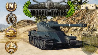 World of Tanks - AMX 50 120 - 10 Kills - 8.7k Damage - Pool
