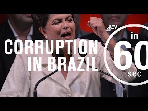 Corruption and impeachment in Brazil...in 60 Seconds