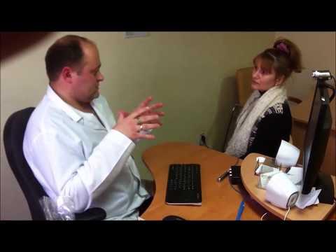 """Интервью - отзыв после первого месяца лечения прибором """"Паркес-Л"""" 455-программным"""