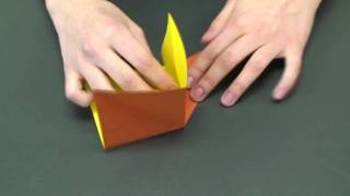 How To Fold An Origami Dog Box