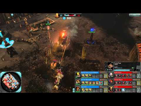 DoW2: Retribution — 3v3 | Faction War — Orks [vs] Space Marines | 2