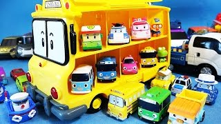 로보카폴리 Robocar Poli Робокар Поли School B Carrier mini car toys by ToyPudding