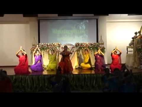 Kathak Dance Choreography  By Dr. Anjana Jha  With Thai  Student,s video