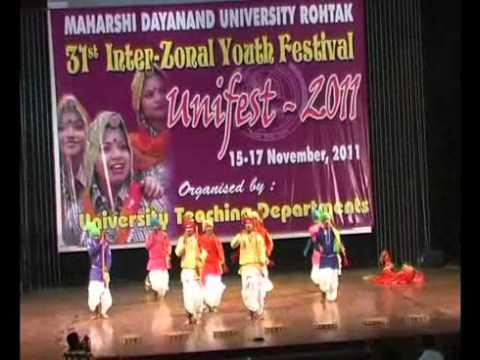 Haryanvi Folk Dance Dhamal 2011 Int Zonal video