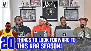 20 Things to Look Forward To For 2019-2020 NBA Season | Through The Wire Podcast