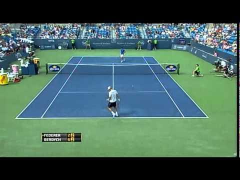 Federer – Berdych 0-2  Qdf  CIN2011 Best Roger's points