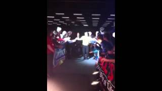 Walk-on Peter Wright @ Dutch Darts Masters 2013