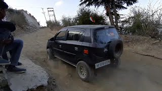 Offroading In Modified Alto k10 And Modified Gypsy