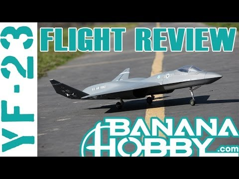 YF-23 BlitzRCWorks   Flight Review   EDF Fighter Jet