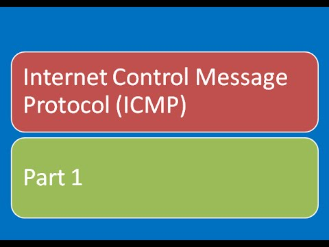 icmp internet control message protocol An internet protocol (defined in rfc 792) that is primarily for reporting errors in tcp/ip messages and exchanging limited status and control information used to.