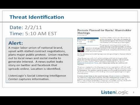 ListenLogic - Social Listening Intelligence Center Case Study