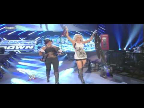 Mickie James and LayCool Feud [MV] Video