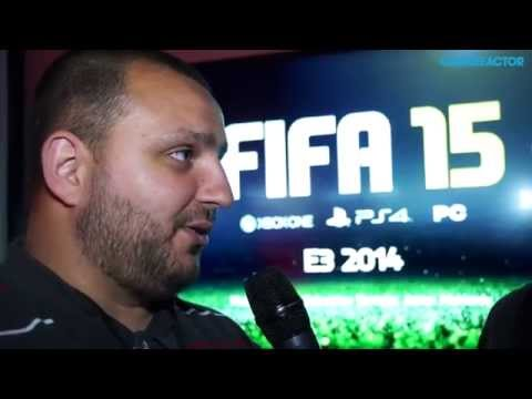 E3 2014: FIFA 15 - Aaron McHardy Interview