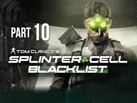 Splinter Cell Blacklist Gameplay Walkthrough Part 10 - Blood Diamond Mines