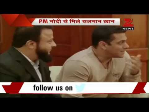 Salman Khan meets PM Narendra Modi in Delhi
