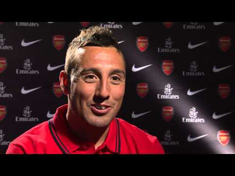 Santi Cazorla's first interview after making Arsenal move